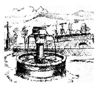 CHADENET - Fontaine