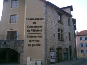 Photo Elu(s) de la commune Bâtiment administratif communautaire – Villefort