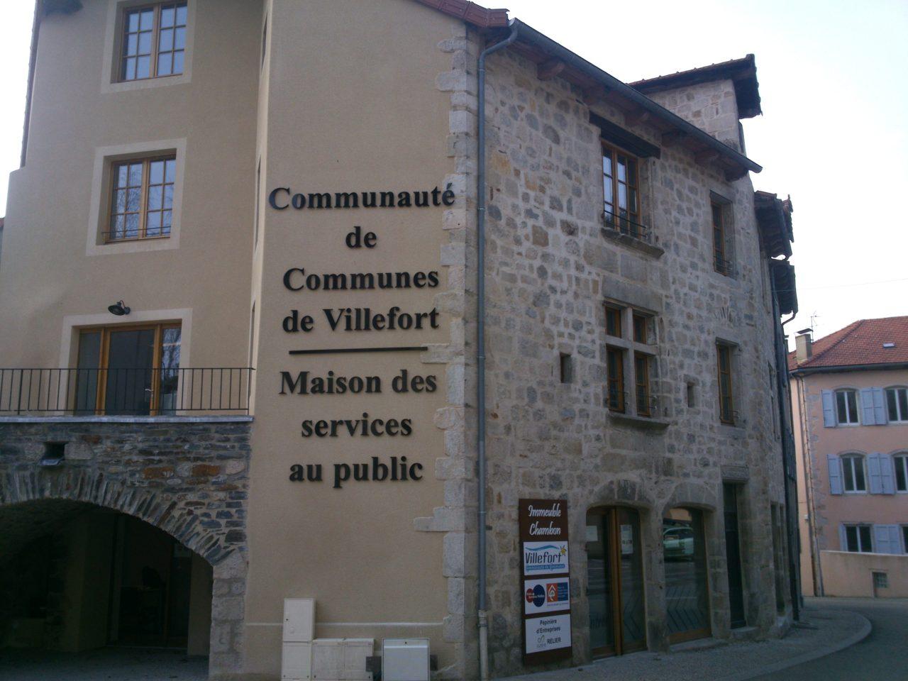 Bâtiment administratif communautaire – Villefort